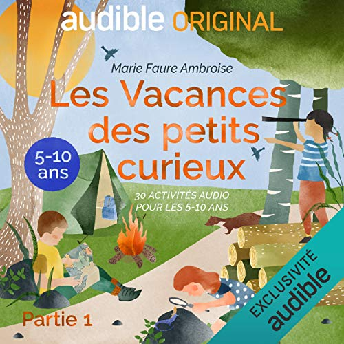 Page de couverture de Les Vacances des petits curieux. Le Pilote