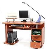 My_office Scanner Portacomputer, Ciliegio, 140x57x77 cm