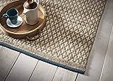 Creative carpets Kilim Alfombra, Lana, Beige, 80 x 120 cm