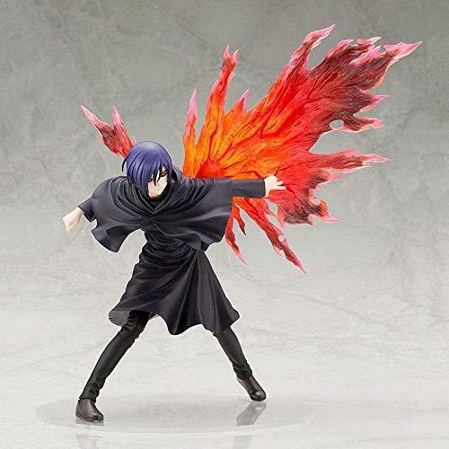 Hearsnow Action Figur Tokyo Ghoul Touka Kirishima Anime Action-Figur 26cm Sammlermodellcharakter Statue Figur Spielzeug Desktop-Verzierungen Actionfiguren