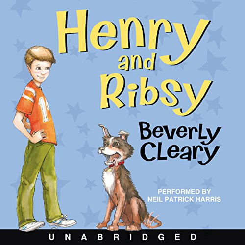 Henry and Ribsy audiobook cover art