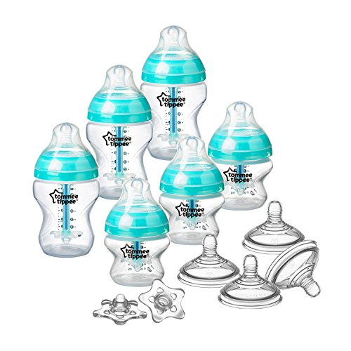 Tommee Tippee Advanced Anti-Colic Newborn Baby Bottle Feeding Set