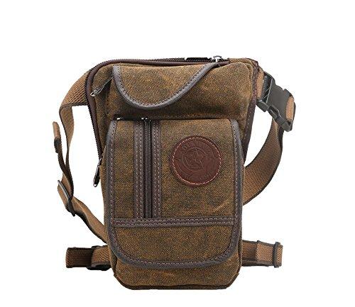 leg bag leather steampunk pattern