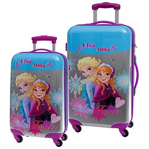 Die Eiskönigin Frozen ABS Koffer-Set, 86 Liter, Mehrfarbig
