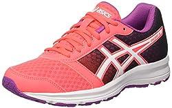 Asics Patriot 8, női futócipő az úton való képzéshez, színes (Diva Pink / White / Orchid), 38 EU