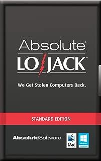 Computrace LoJack for Laptops Standard 1 Year [Online Code]