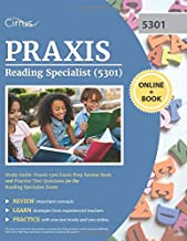 Praxis Reading Specialist (5301) Study Guide: Praxis 5301 Exam Prep Review Book and Practice Test Questions for the Reading Specialist Exam