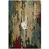 LIUXR Mike Shinoda Post Traumatic Hip Hop Rap Music Album Poster e Stampe su Tela Pittura Wall Art Home Decor -20x30 Pollici No Frame 1 PCS