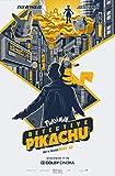 CHUTD 1000 Piezas Jigsaw Piezas Adultos Rompecabezas Pokémon Detective Pikachu Movie Floor Adultos y niños Brain Challenge Puzzle