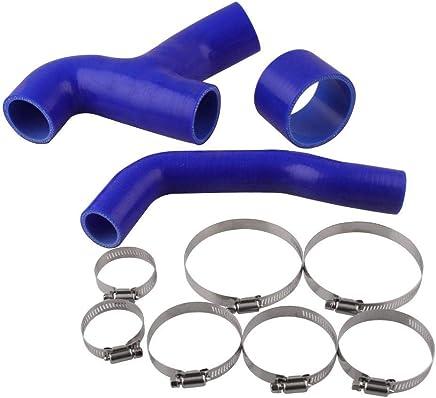 Tubo de radiador de Silicona semirr/ígido Reforzado de 19 mm de di/ámetro x 500 mm Color Azul Innovo 3 Capas