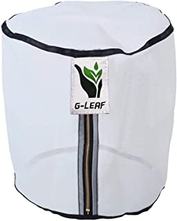 G-LEAF 7 Gallon 220 Micron Zipper Bubble Filter Bag Herb Extraction Bags for Washing Machine