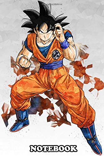 Notebook: Son Goku , Journal for Writing, College Ruled Size 6' x 9', 110 Pages