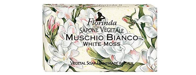 レジ墓ショートカットフロリンダ フレグランスソープ 95g ホワイトモス