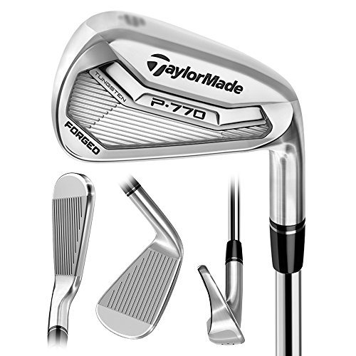 TaylorMade P-770 Iron Set (4-PW) - RH - Steel Stiff