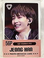 JEONGHAN ジョンハン - SEVENTEEN セブンティーン セブチ グッズ / フォト メッセージカード 56枚 (ミニ ポストカード 56枚) セット - Photo Message Card 56pcs (Mini Post Card 56pcs) [TradePlace K-POP 韓国製]