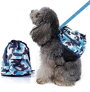 636e083876e ISUDFSD Mochila para Perro Artículos para Mascotas Mochila para Perro Bolsa  de Camuflaje sacada de la