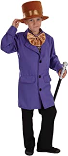Fun Shack Púrpura Propietario De Fábrica Disfraz para Niñ