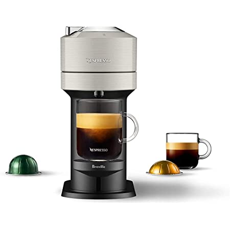 Nespresso BNV520GRY Vertuo Next Espresso Machine by Breville, Light Grey