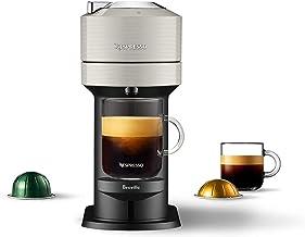 Nespresso Vertuo Next Coffee & Espresso Machine NEW by Breville, Light Grey, Compact, Single Serve, One Touch to Brew, Cof...