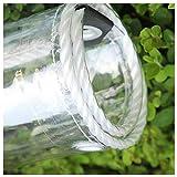 Jeseca Lona resistente al agua, transparente, protección de 550 g/m², con...