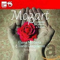 モーツァルト:4手のためのピアノ・ソナタ集