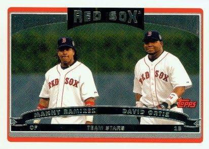 2006 Topps Baseball Card 329 M Ramirez David Ortiz TS Boston Red Sox product image