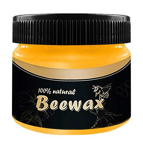 Holzgewürz Bienenwachs, ZoneYan Poliert Beewax, Möbelpflege Holz Würzmittel Bienenwachs, Beschützer Natürliche Bienenwachs Möbelpolitur