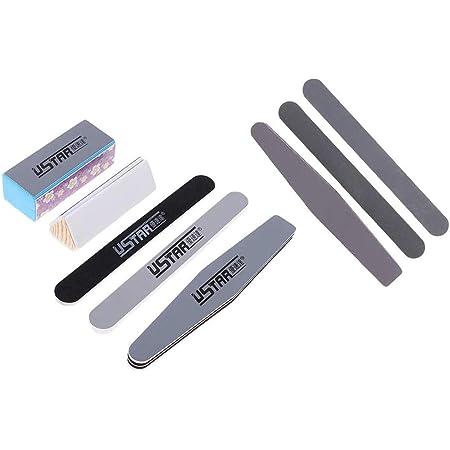 POFET Ensemble d'outils de polissage pour maquette de vernis à ongles