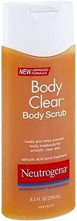 Neutrogena Body Clear Body Scrub, 8.5 Fluid Ounce (Pack of 4)