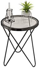 C-J-Xin Tempered Glass Coffee Table, Transparent and Waterproof Easy to Clean Coffee Table Home Living Room by The Sofa Fl...