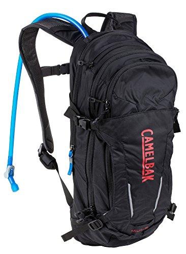 CamelBak - Mochila de ciclismo M.U.L.E, Black-Red especial modelo 3 l
