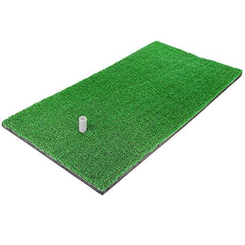 Alfombrillas de golf portátiles para práctica personal, verde, 60 x 30 cm