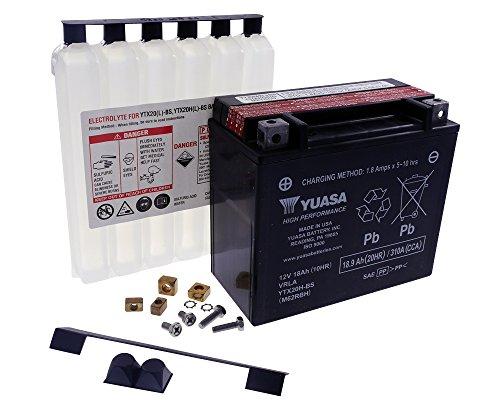 Preisvergleich Produktbild Batterie YUASA - YTX20H-BS wartungsfrei für Harley Davidson FXE 1340 Super Glide [inkl. 7
