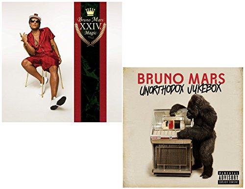 24k Magic - Unorthodox Jukebox - Bruno Mars 2 CD Album Bundling