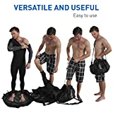 EasyGoProducts Surf Sac – Wetsuit Changing Mat and Dry Carry Bag – Large Waterproof Surf Bag with...