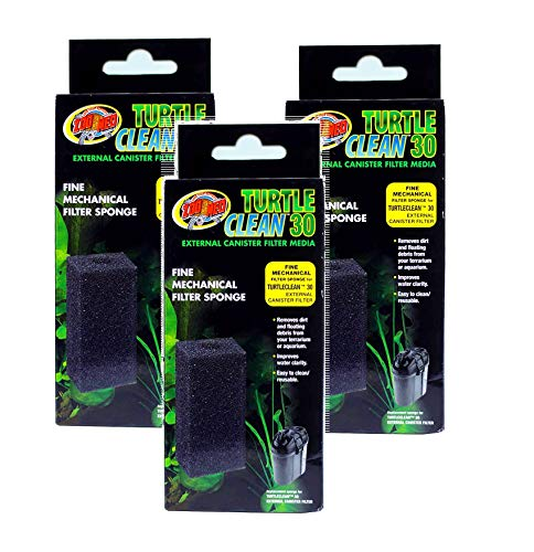 Zoo Med Turtle Clean 30 External Canister Filter Media (3 Pack)