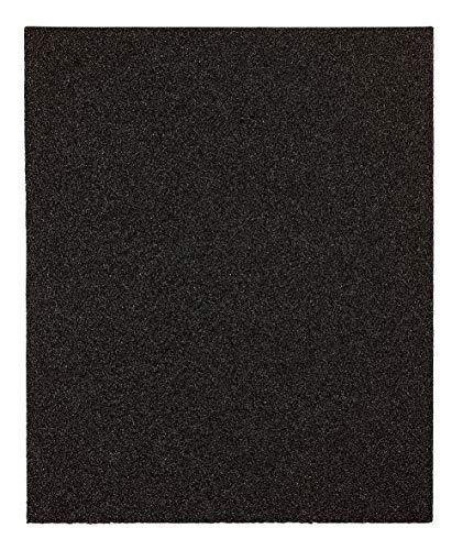 kwb 830418 - Papel de lija resistente al agua, para vidrio, piedra, metal, carrocería y trabajos de barniz, 230 x 280 mm, soldado, 5 unidades, grano K-180, fabricado en Europa