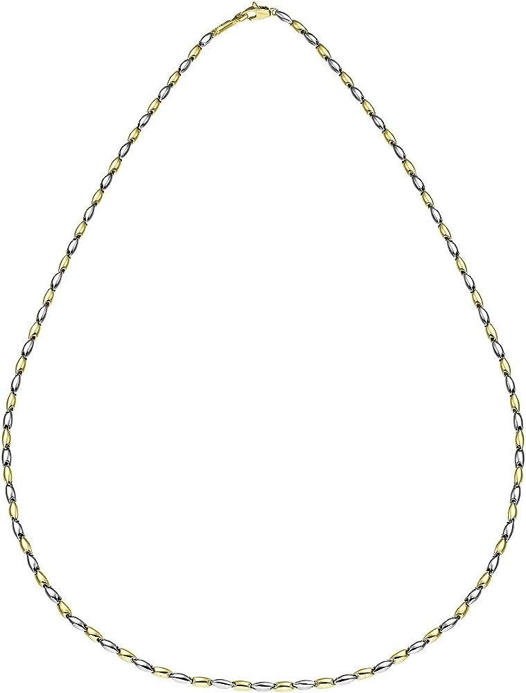 Chimento ,collana da uomo in oro giallo e bianco 18 kt/750(5,8 gr) 1G05286ZZ2500