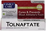 [3 PACK] Family Care Tolnaftate Antifungal Cream 1% Compare to Tinactin- 1 fl.oz
