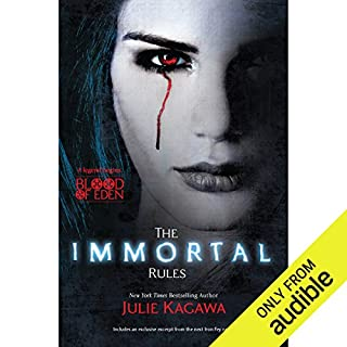 The Immortal Rules audiobook cover art