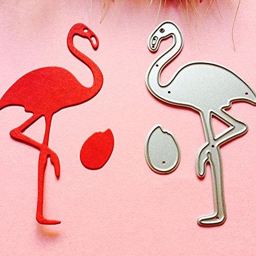 Kuizhiren1 Stanzschablonen, Flamingo-Form, DIY, Schablone, Scrapbooking, Album, Papier, Karten, Bastelwerkzeug
