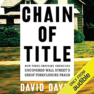 Chain of Title audiobook cover art