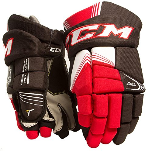CCM New Tacks 5092 Hockey Gloves Black/White Junior 10 inch
