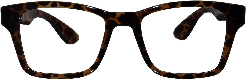 Ontrends Nerd Greek Rectangular Flexible Memory Eyewear Frames