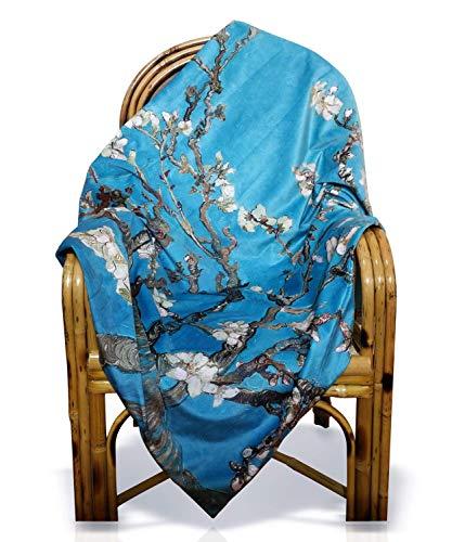 LVFEIER Couverture anti-radiations de grossesse, couverture douce multifonctionnelle pour femme enceinte, petite enfance (argenté)