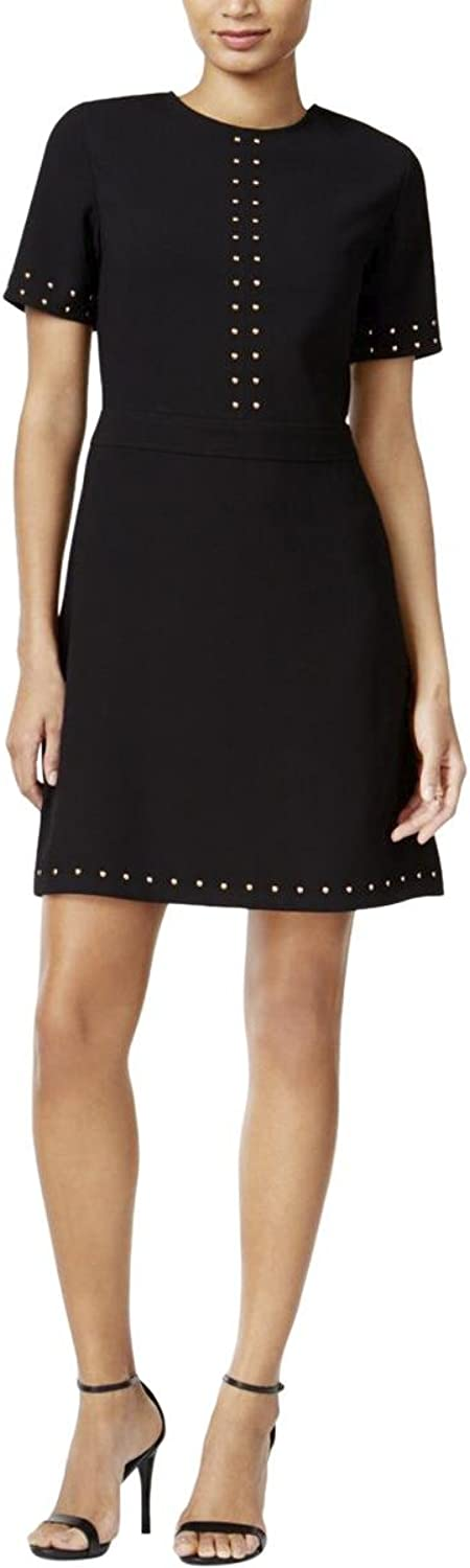 Bar Iii Womens Embellished ALine Dress