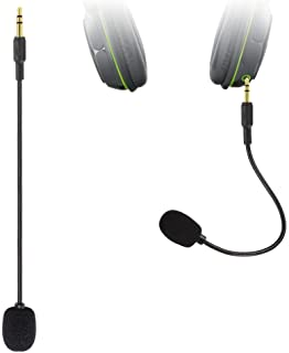 Limvoo Mic Replacement 3.5mm for Headset - Turtle Beach Ear Force XO ONE Stealth Recon 50,450,400,520,Z60,500P