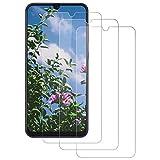 DASFOND [3 Piezas Protector de Pantalla Samsung A50, Cristal Vidrio Templado,...