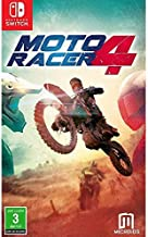 Moto racer 4, racing game for nintendo switch