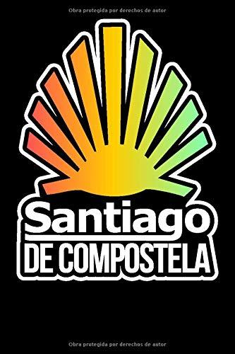 Notebook Santiago De Compostela: 120 Seiten I Weißes Papier I Gepunktet I